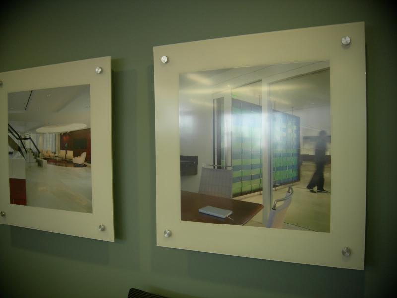 custom fabricated photo displays.